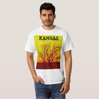 Kansas Sunset Color's Added T-Shirt