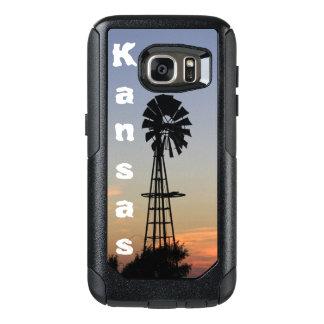 Kansas Sunset,Custom OtterBox Samsung Galaxy S7