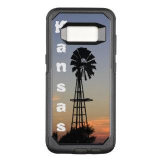 Kansas Sunset,Custom OtterBox Samsung Galaxy S8