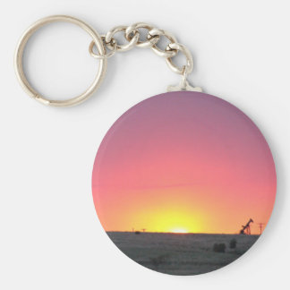 Kansas Sunset Keychain