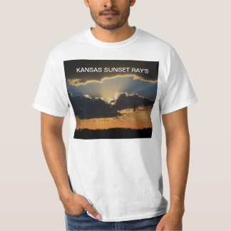 Kansas Sunset Ray's  T-Shirt's T-Shirt