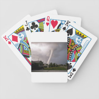 Kansas Tornado Bicycle Playing Cards