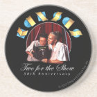 KANSAS - Two for the Show (Anniversary) Coaster