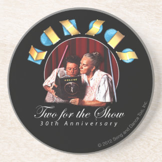 KANSAS - Two for the Show (Anniversary) Coasters