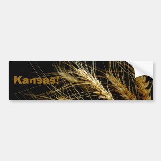 Kansas!  Wheat crop bumper sticker