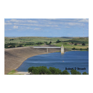 Kansas Wilson Lake Photo Enlargement