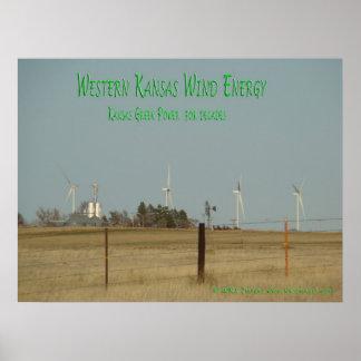 Kansas Wind Energy Poster