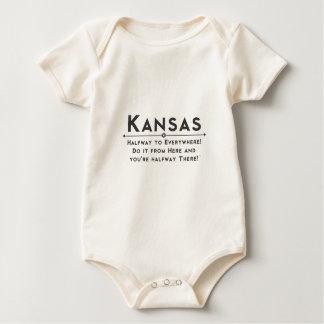 kansasflower baby bodysuit