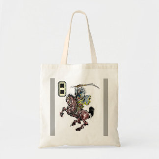Kanuh 関羽 Chinese   hero akhalteke  horse 赤兎馬 decor Tote Bag