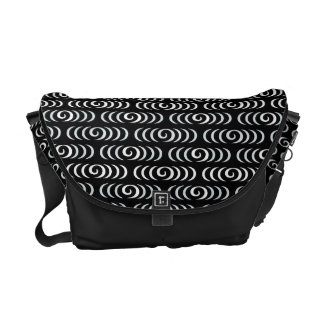 Kanzemizu Japanese Pattern Messenger Bag B