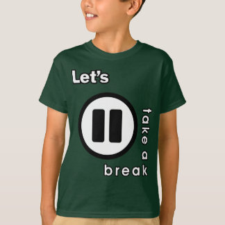 KAOS INUKREASI PLAYER ICONS - LETS TAKE A BREAK V. T-Shirt
