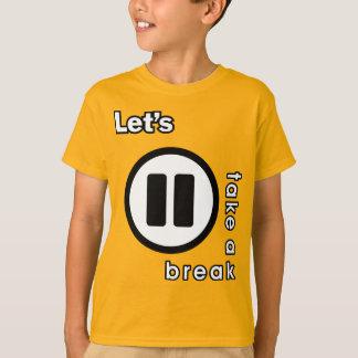 KAOS INUKREASI PLAYER ICONS - LETS TAKE A BREAK V. T-Shirt