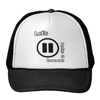 KAOS INUKREASI PLAYER ICONS - LETS TAKE A BREAK V. TRUCKER HAT
