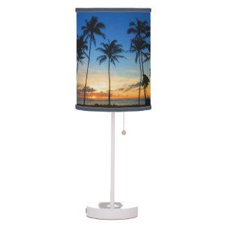 Kapaa Sunrise - Kauai, Hawaii Table Lamp