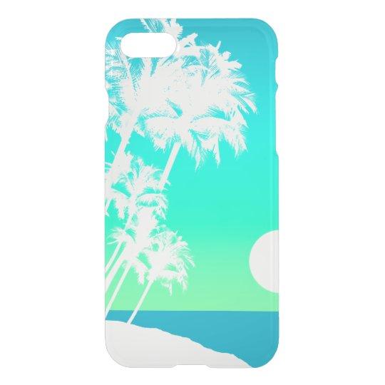 Kapaa Sunset Hawaiian Palm Tree Scenic iPhone 8/7 Case