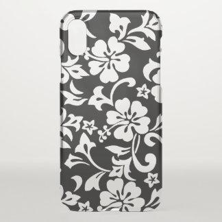 Kapalua Pareau Hawaiian Hibiscus Black iPhone X Case