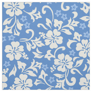 Kapalua Pareau Hawaiian Hibiscus Fabric