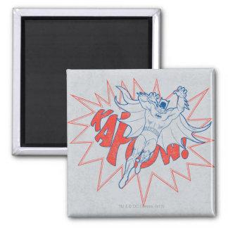 KAPOW! Batman Graphic Square Magnet