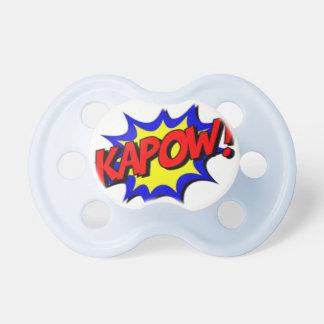 Kapow! Super Hero 0-6 months BooginHead® Pacifier
