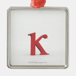 Kappa 2 metal ornament