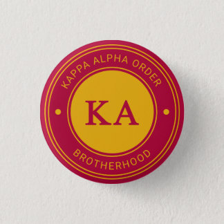 Kappa Alpha Order | Badge 1 Inch Round Button