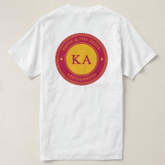 Kappa Alpha Order   Badge T-Shirt