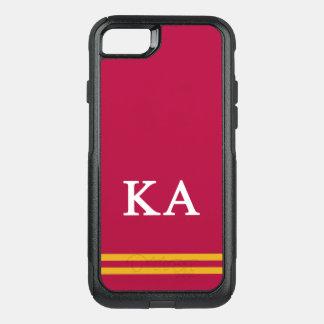 Kappa Alpha Order | Sport Stripe OtterBox Commuter iPhone 8/7 Case