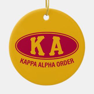 Kappa Alpha Order   Vintage Ceramic Ornament