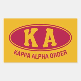Kappa Alpha Order   Vintage Sticker