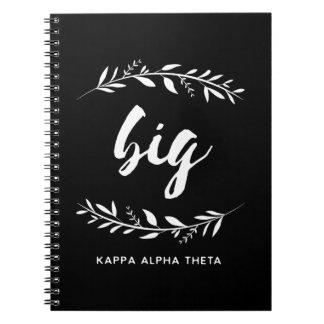 Kappa Alpha Theta | Big Wreath Notebook