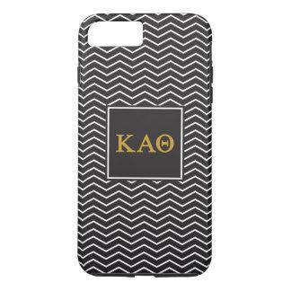 Kappa Alpha Theta | Chevron Pattern iPhone 8 Plus/7 Plus Case