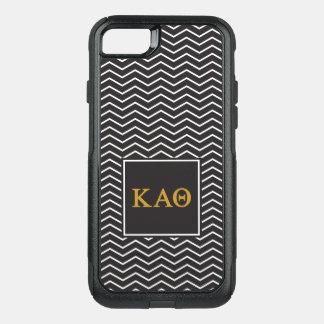 Kappa Alpha Theta   Chevron Pattern OtterBox Commuter iPhone 7 Case