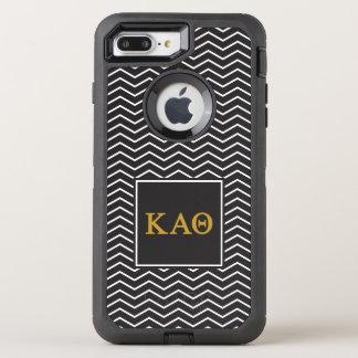 Kappa Alpha Theta | Chevron Pattern OtterBox Defender iPhone 8 Plus/7 Plus Case
