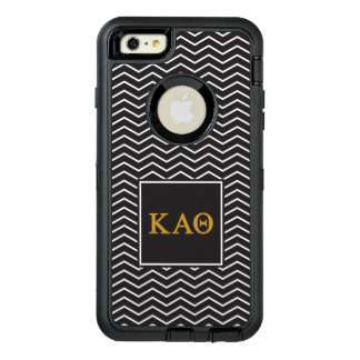 Kappa Alpha Theta | Chevron Pattern OtterBox Defender iPhone Case