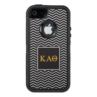 Kappa Alpha Theta | Chevron Pattern OtterBox Defender iPhone Case