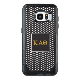 Kappa Alpha Theta | Chevron Pattern OtterBox Samsung Galaxy S7 Edge Case