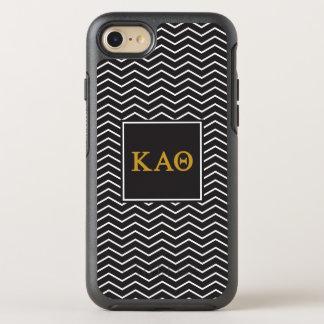 Kappa Alpha Theta   Chevron Pattern OtterBox Symmetry iPhone 7 Case