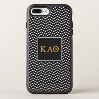 Kappa Alpha Theta | Chevron Pattern OtterBox Symmetry iPhone 8 Plus/7 Plus Case