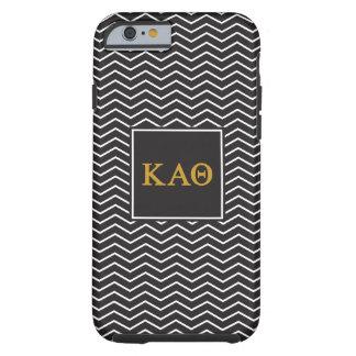 Kappa Alpha Theta   Chevron Pattern Tough iPhone 6 Case