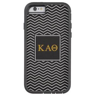 Kappa Alpha Theta   Chevron Pattern Tough Xtreme iPhone 6 Case