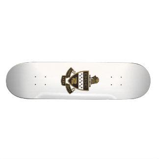 Kappa Alpha Theta Coat of Arms: Color Skate Board Deck