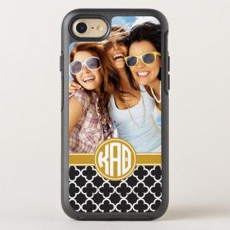Kappa Alpha Theta | Custom Monogram Pattern OtterBox Symmetry iPhone 8/7 Case