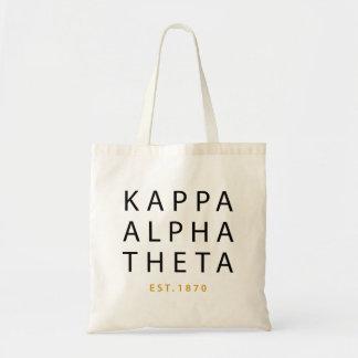 Kappa Alpha Theta | Est. 1870 Tote Bag