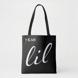Kappa Alpha Theta | Lil Script Tote Bag