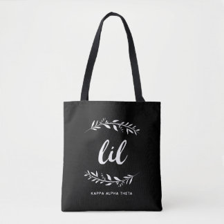Kappa Alpha Theta | Lil Wreath Tote Bag
