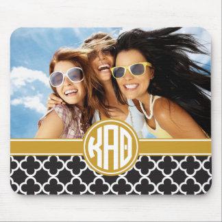 Kappa Alpha Theta | Monogram and Photo Mouse Pad