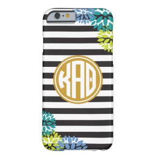 Kappa Alpha Theta | Monogram Stripe Pattern Barely There iPhone 6 Case