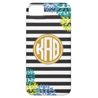 Kappa Alpha Theta   Monogram Stripe Pattern iPhone 5 Covers