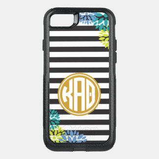 Kappa Alpha Theta | Monogram Stripe Pattern OtterBox Commuter iPhone 8/7 Case