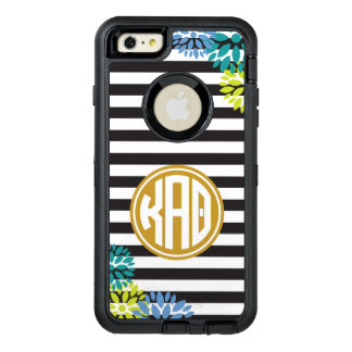 Kappa Alpha Theta | Monogram Stripe Pattern OtterBox iPhone 6/6s Plus Case